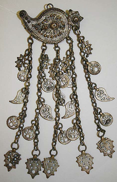 Jewelry Date: 19th century Culture: Turkish Medium: silver