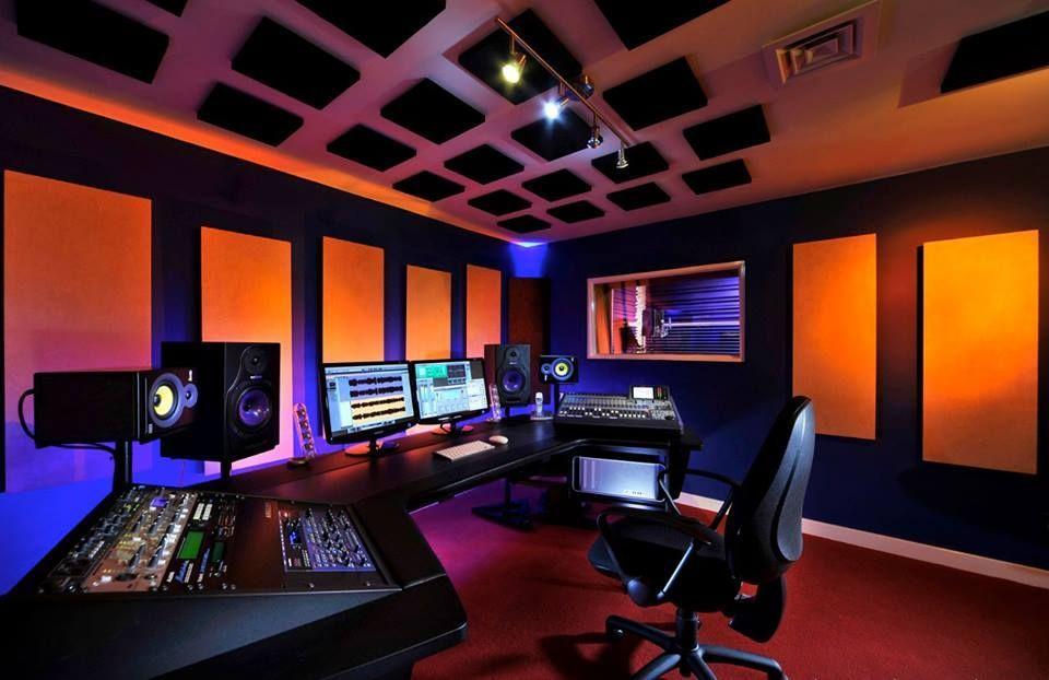 7 led music studio lighting setups 7