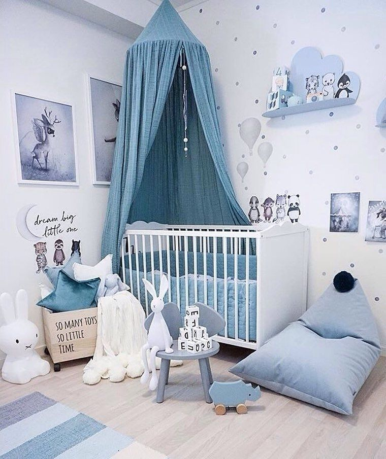 23 Cutest Boy Nursery Decor Inspirations - Gazzed