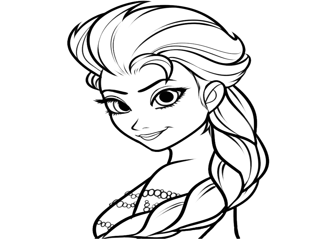 Anna Frozen Face Coloring Page Hd Frozen Anna Colouring Pages