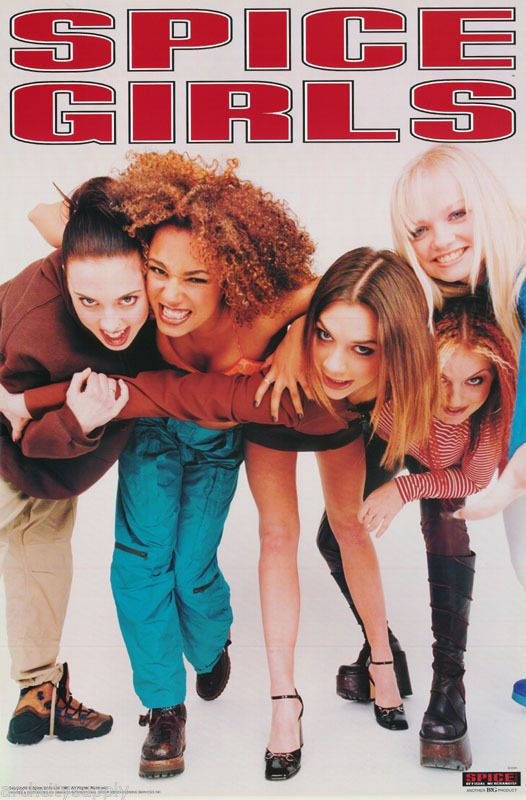 Obsessing Over Spice Girls