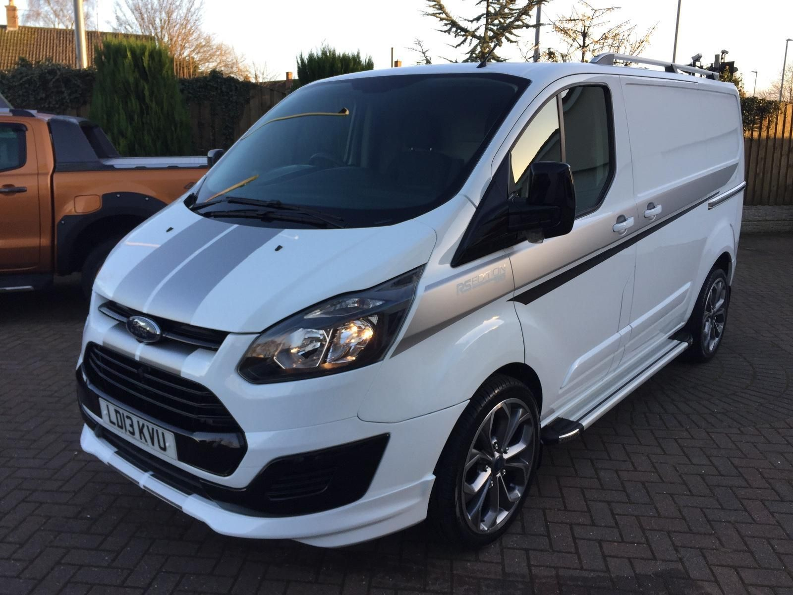Check Out This Fast Ford 2013 13 Ford Transit Custom Rs Edition