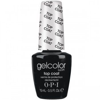 OPI Gelcolor Collection Nail Gel Lacquer, Top Coat, 0.5 Fluid Ounce   Your #1 Source for Beauty Products