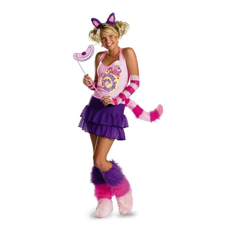 Cheshire Cat Teen/Adult Costume Alice in Wonderland Party - halloween teen costume ideas