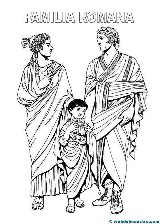Resultado de imagen de cuadrigas romanas para colorear | Roma para ...