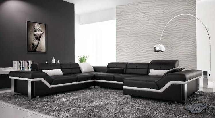 20 Elegant Leather Couch Designs For Your Living Room | Living room ...