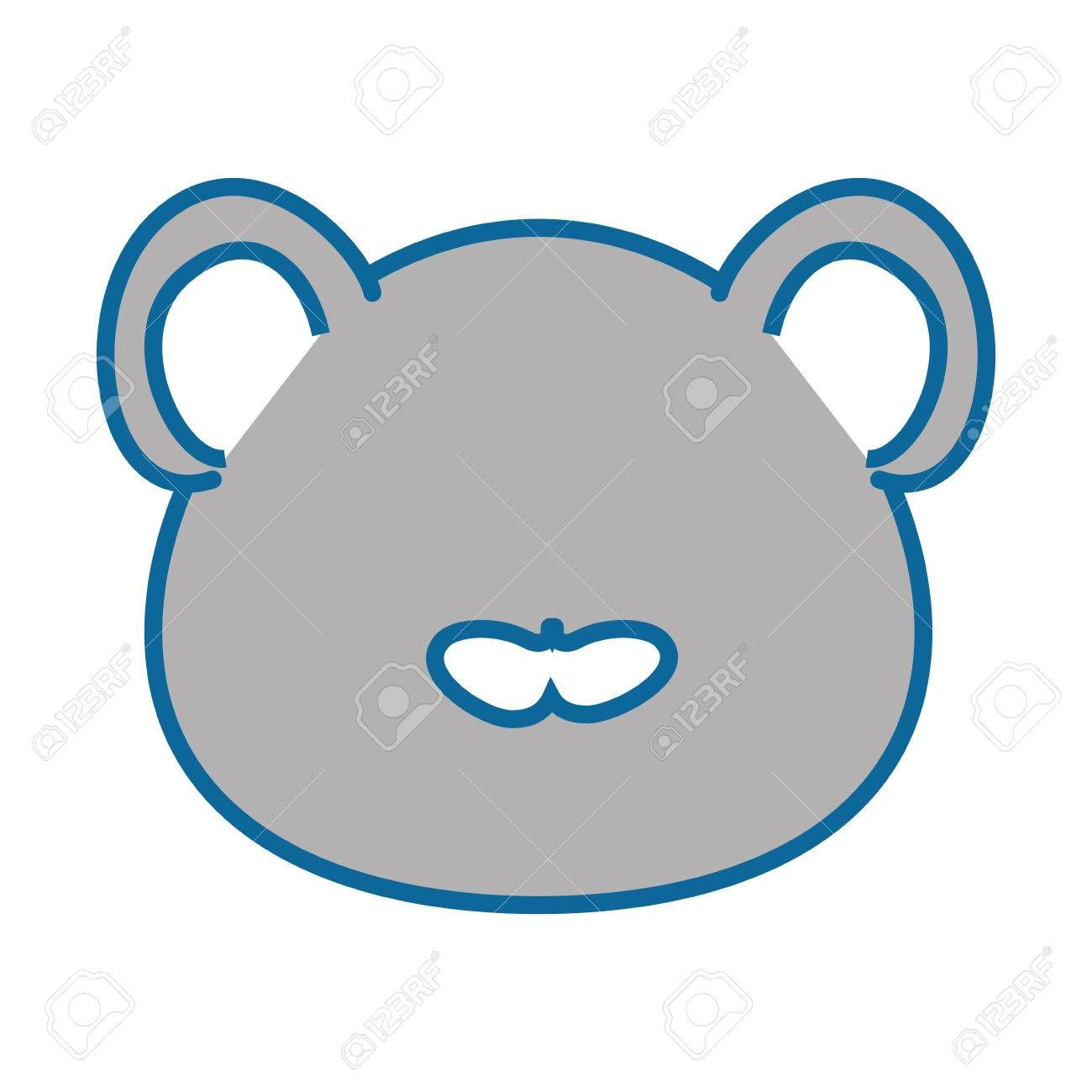 Isolated Cute Mouse Face Icon Vector Illustration Graphic Design Spon Mouse Face Isolated Cute Ico Presentation Template Free Cute Mouse Face Icon