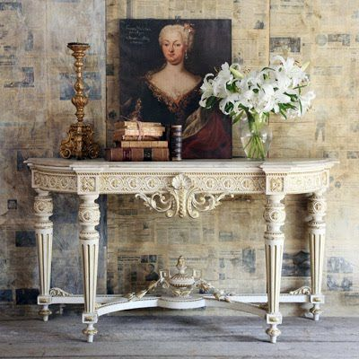 Antique French Console - Absolutely GORGEOUS!