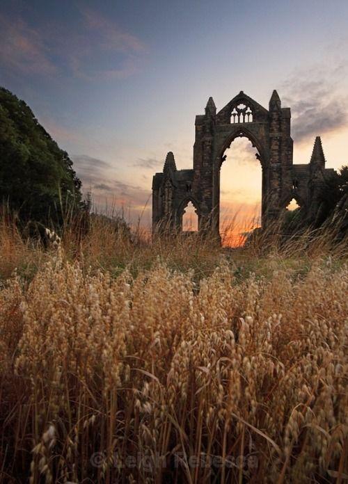 guisborough priory, north yorkshire, england #ruins