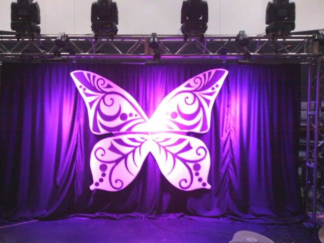 Butterfly For Women S Conference Stage Decorations