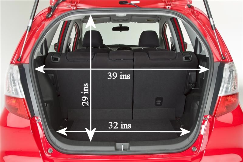To Figure Out What I Can Indeed Fit Into My Honda Fit Honda Fit