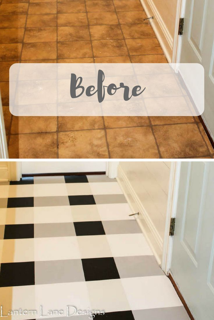 how to paint your floors to make them last  diy painted