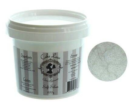 Claire Bowman Sugar Cake Lace Mix - SOFT SILVER 200g FREE Shipping