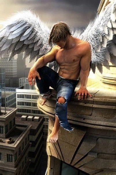 Erotischer Engel Will Unbedingt Blasen
