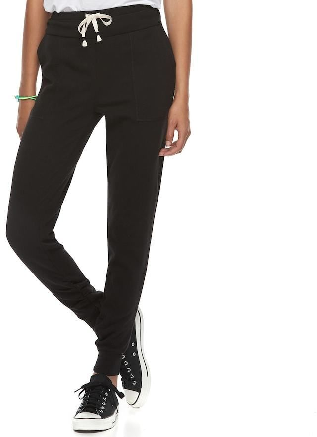 SO Juniors' SO® Ruched Jogger Sweatpants