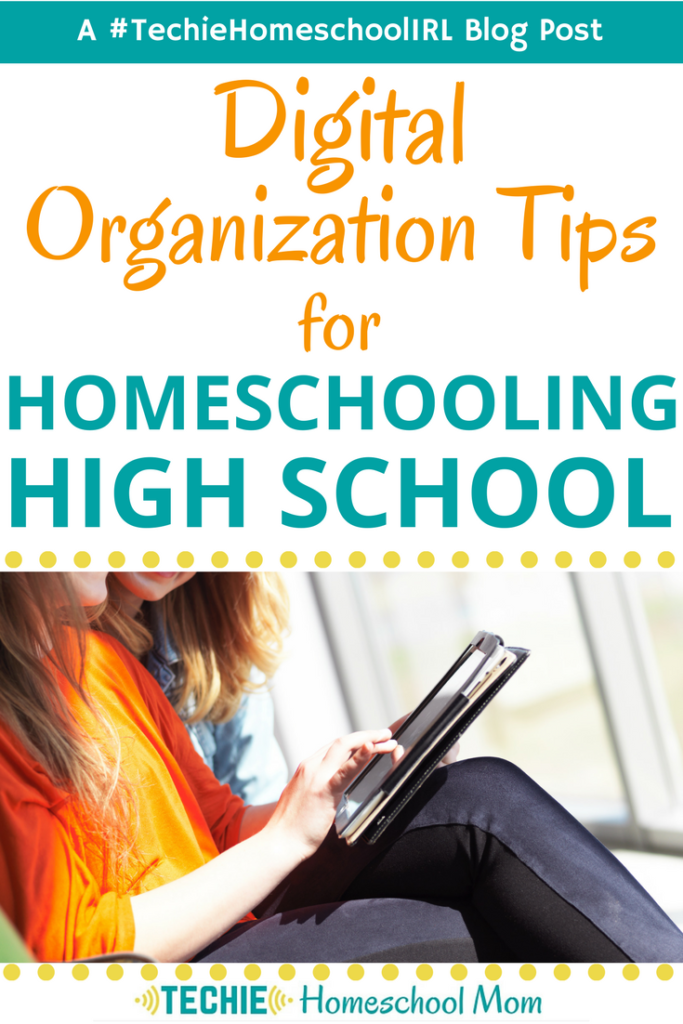 Digital Organization Tips for Homeschooling High School is part of School Organization Printables - Get helpful tips to teach your teens how to use apps to organize their homeschool studies and be prepared for adulthood