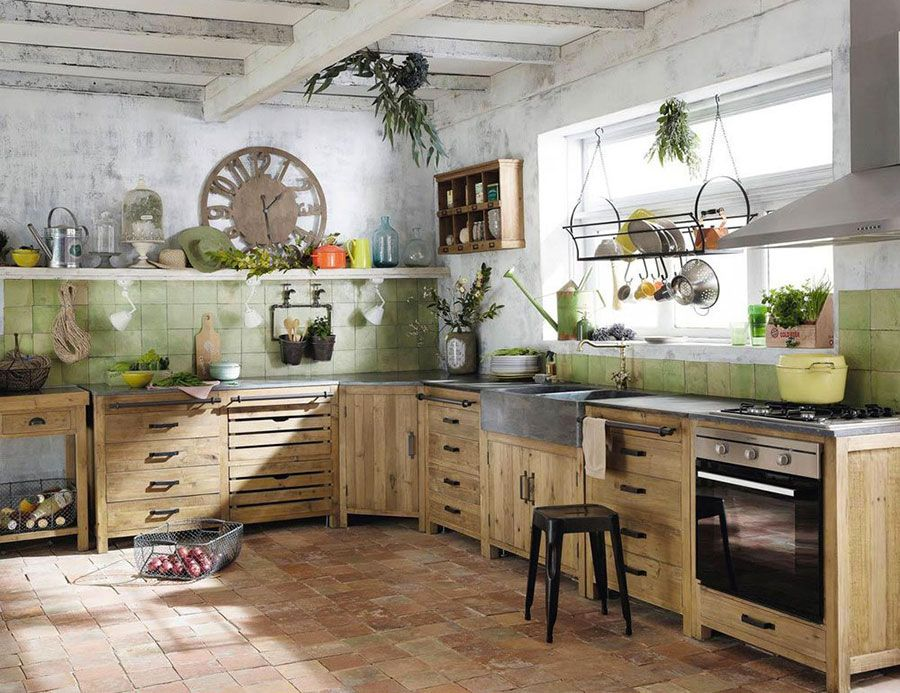 Cucina vintage Maison Du Monde 2   Cucine   Pinterest   Vintage