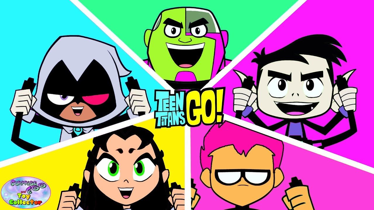 Teen Titans Go Color Swap Transforms Episode Surprise Egg -3151