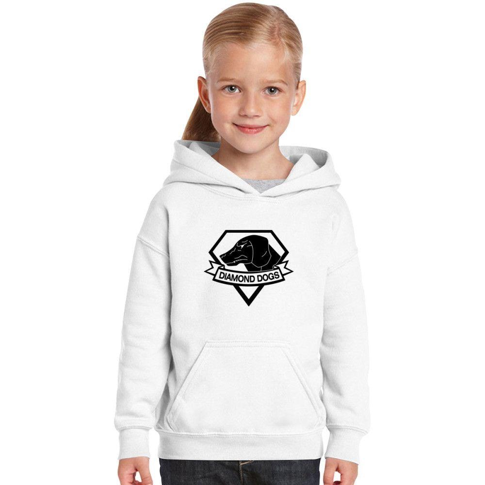 Diamond Dogs Kids Hoodie