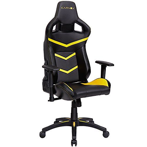 Marvelous Karnox Legend Be Yellow Black Racing Style Gaming Office Pdpeps Interior Chair Design Pdpepsorg