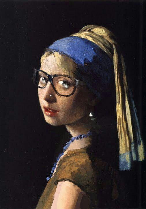 Vermeer La Jeune Fille à La Perle : vermeer, jeune, fille, perle, Jeune, Fille, Perle, Affelelou, Pearl, Earring,, Earrings,