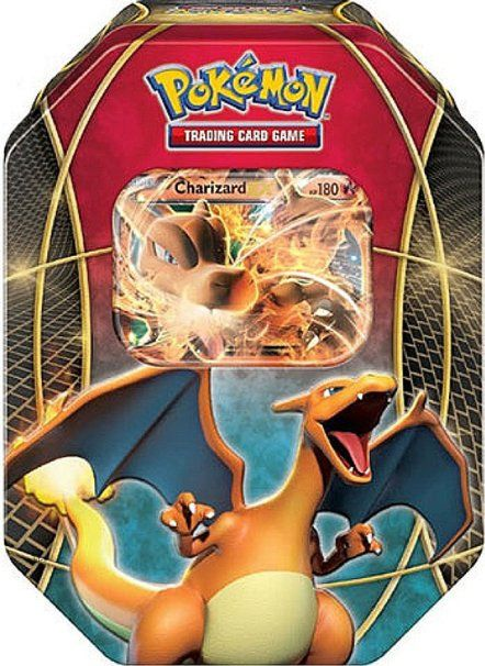 POKEMON Jeu de cartes Ex power trio Dracaufeu EX Tin