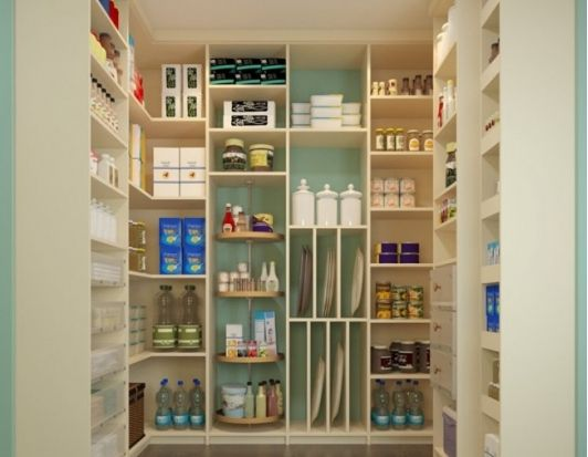 Pantry - floor-to-ceiling - Home and Garden Design Ideas - Closet Factory