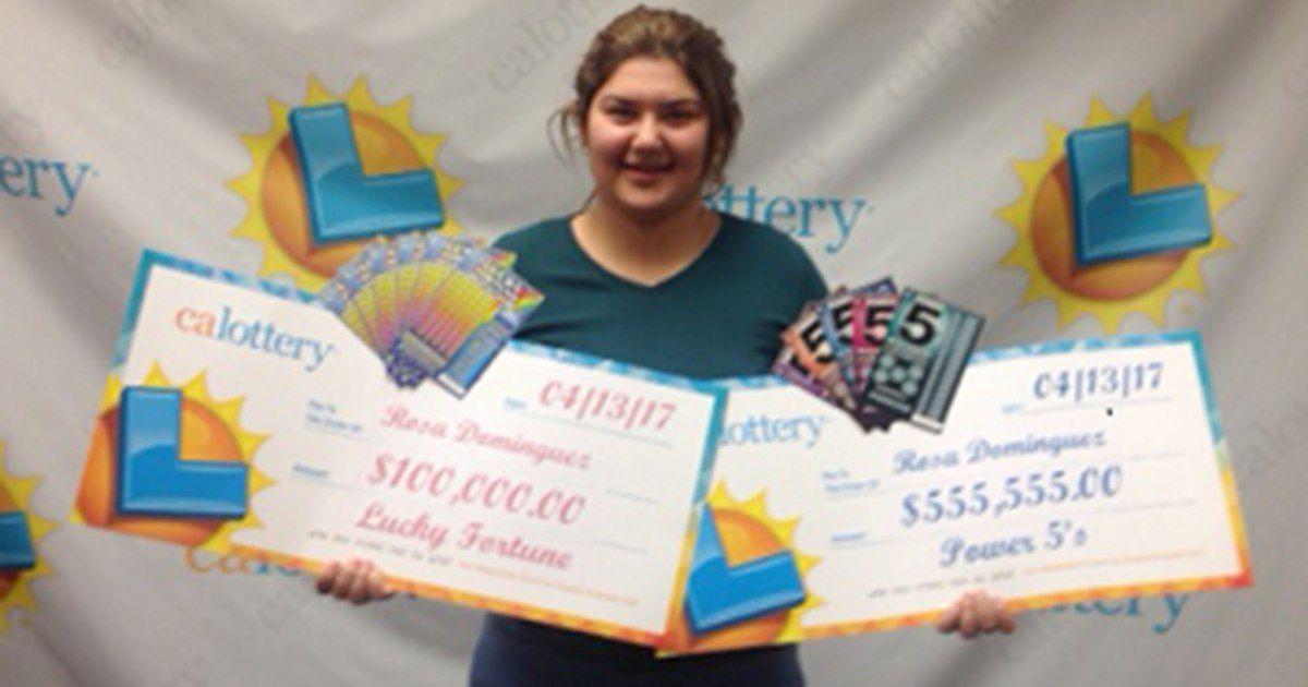 19yearold woman wins lottery two times in a week