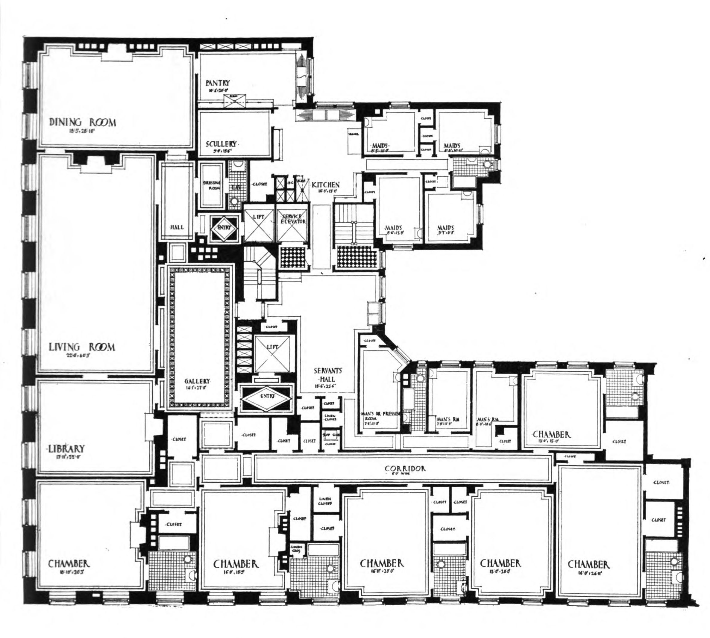 Uncategorized:960 Fifth Avenue Floor Plan Impressive In