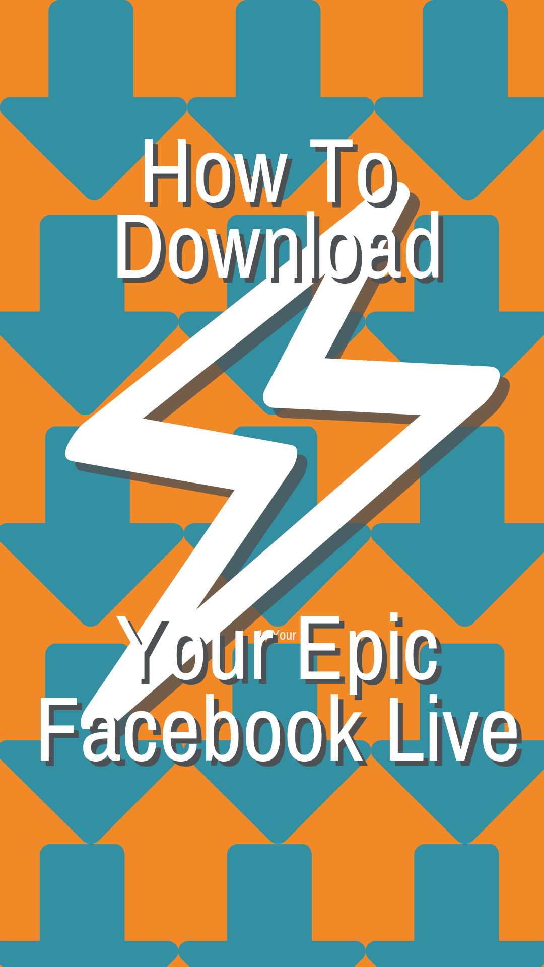 How To Download Your Facebook Live And Make Content Babies Facebook Video Marketing Facebook Live Facebook Marketing