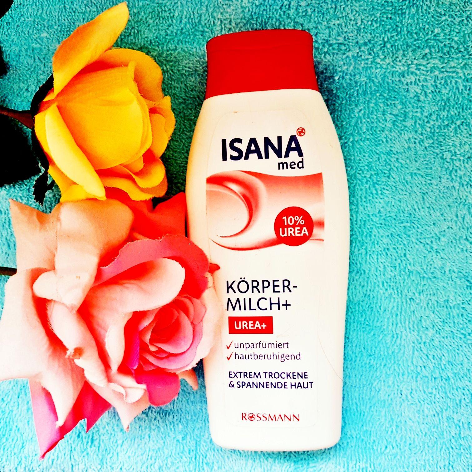 Isana Med Körpermilch + Urea+
