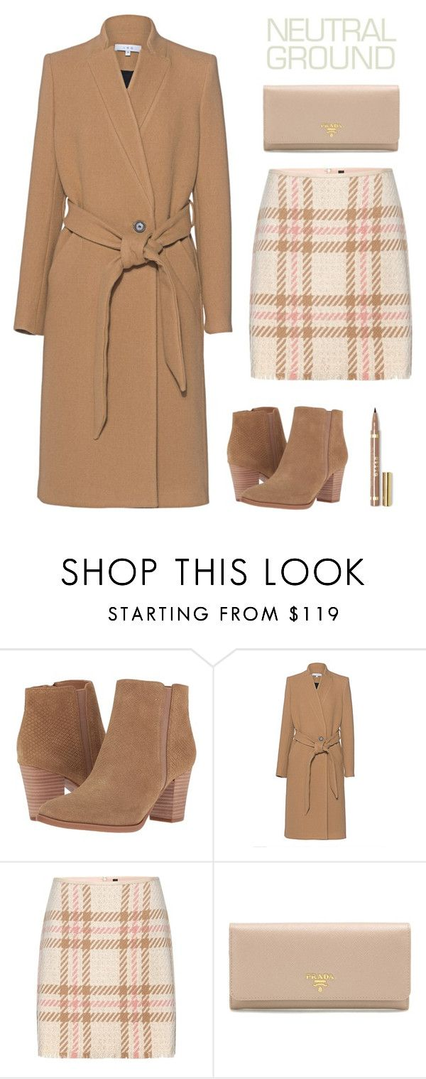 """Cool Neutrals"" by dianakhuzatyan ❤ liked on Polyvore featuring Franco Sarto, IRO, MARC CAIN, Prada, neutrals, Nudes and polyvoreeditorial"