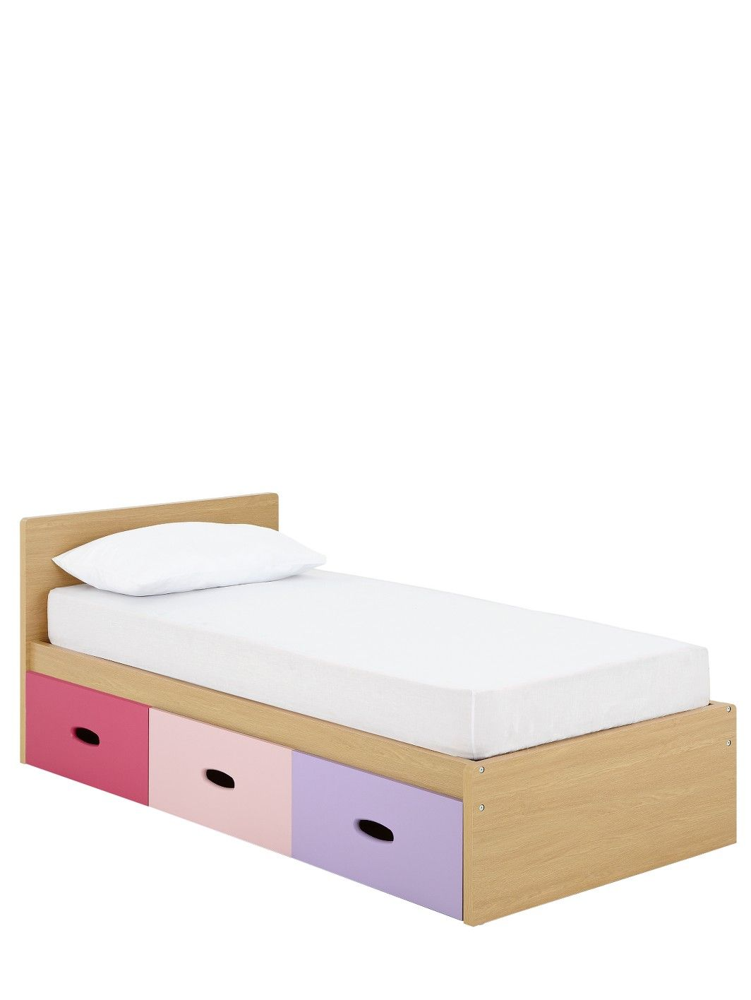 239 mattress included ladybird harley kids single storage bed with optional assembly service