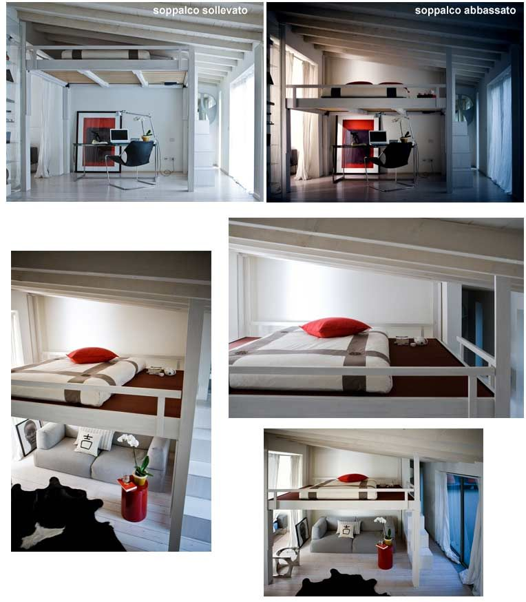 Really Cool Loft Bed For Small Spaces