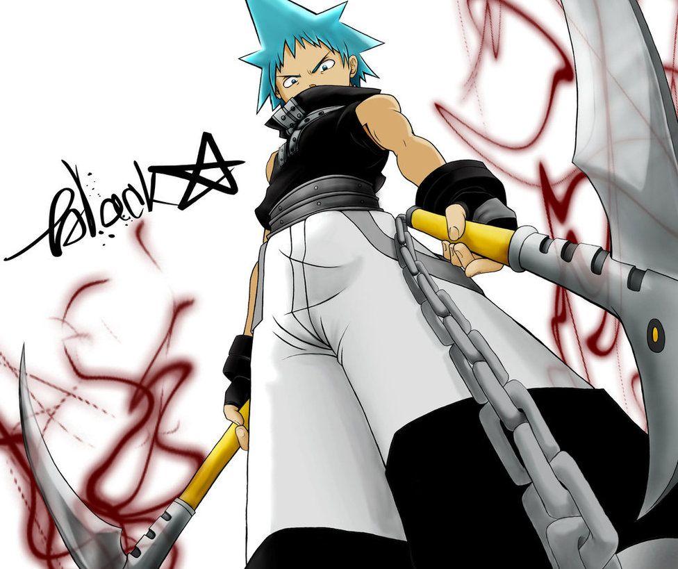 Soul Eater Blackstar By Icybluesky On Deviantart Black Star Soul Eater Soul Eater Anime Soul