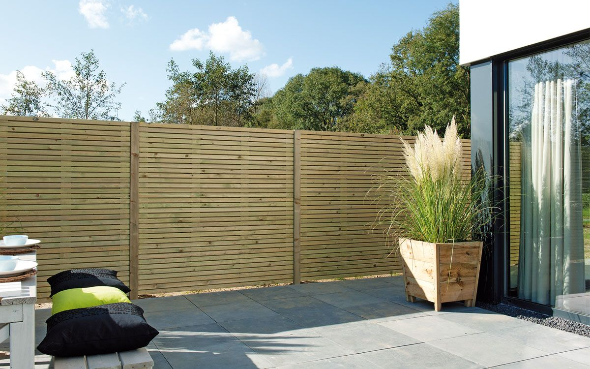 Elan scherm excellent 180x180 cm heeft een verfijnde vormgeving die uitstekend past bij een - Buitenkant terras design ...