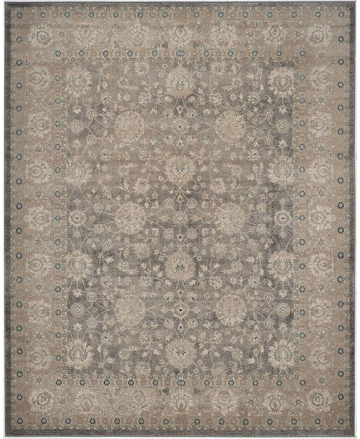 Safavieh Sofia Light Gray And Beige 9 X 12 Area Rug Reviews Rugs Macy S Grey And Beige Area Rugs Safavieh