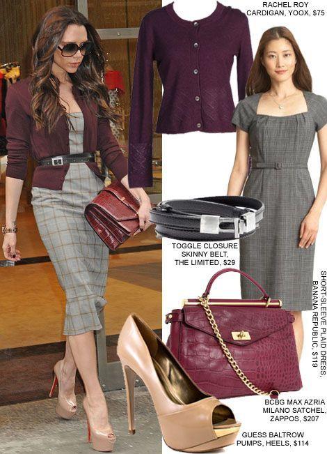 Dress for Work in Victoria Beckham's Prim Style