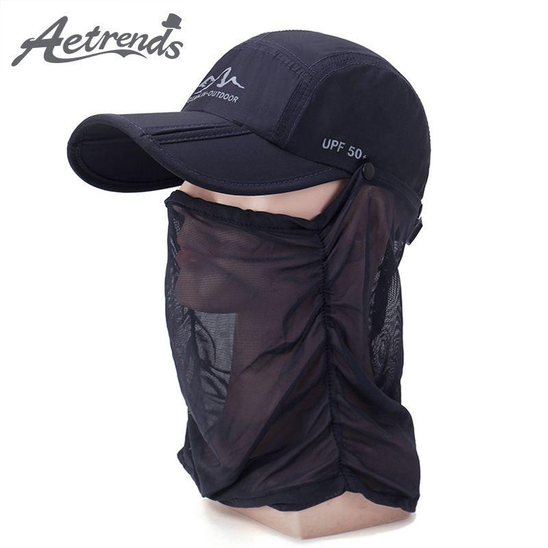 2f48a76cc39 Summer Face Mask Mesh Baseball Cap Men Women Outdoor Sport Hats Snapback  Bone Z-6357