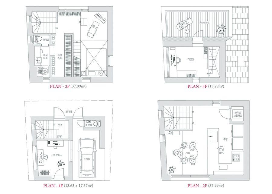 [BY 월간 전원속의 내집] 서울 한복판 구도심 속 작은 땅. 이 좁은 공간에 건축주의 무한한 개성을 가득...