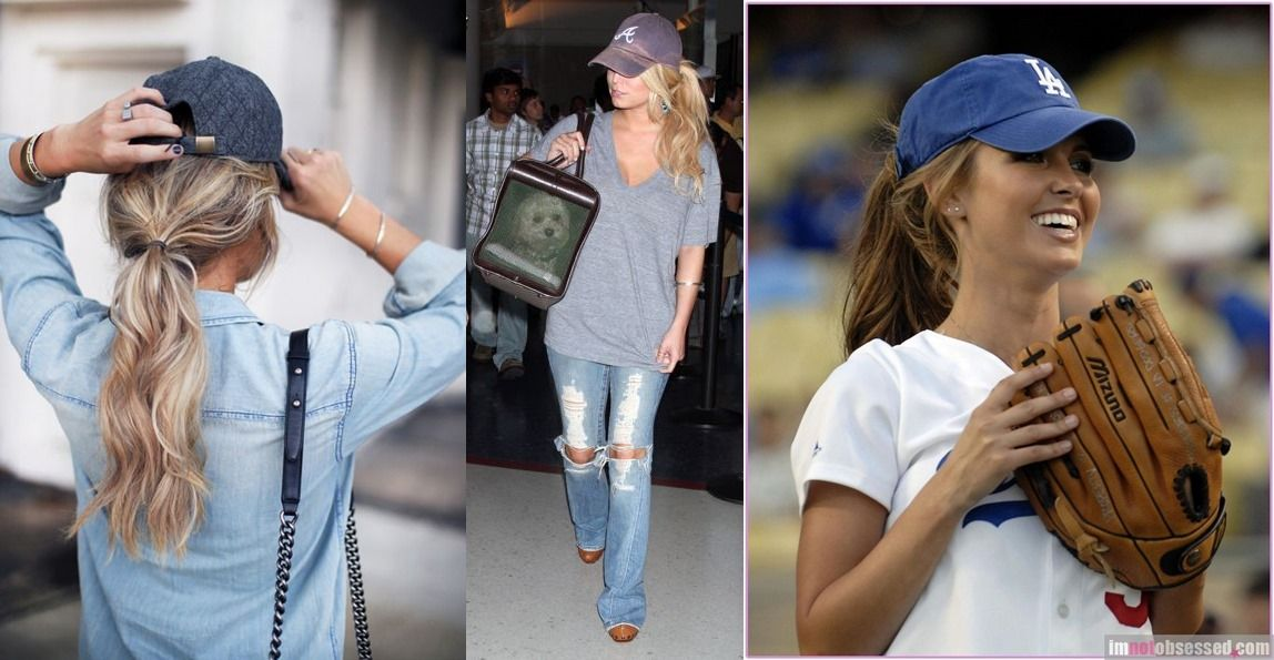 How To Wear Your Hair Under A Baseball Cap Restyle Pro Official Website Hat Hairstyles Baseball Cap Hairstyles Baseball Hat Hairstyles