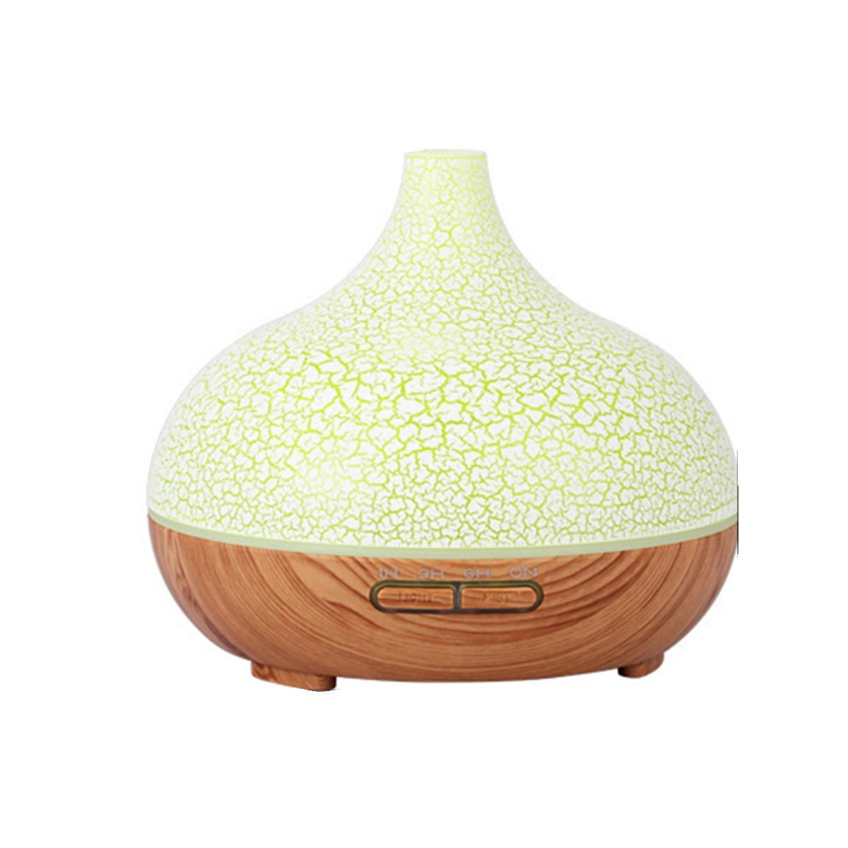 300ml USB 7LED Ultrasonic Aroma Essential Oil Diffuser Air Humidifier Purifier