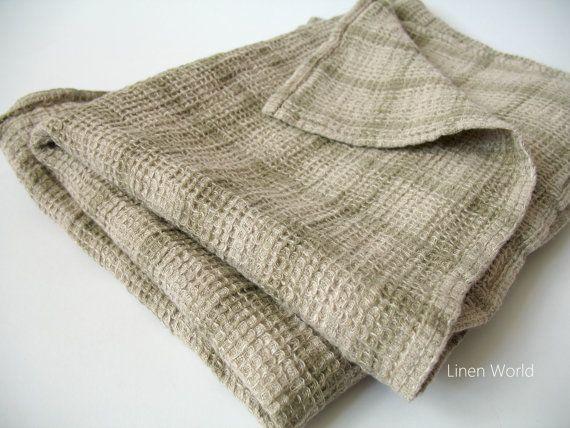 Linen Bath Towel 100 Linen Waffle Weave Bath Towel By