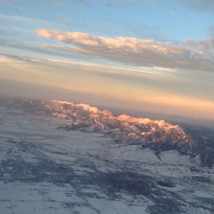 Bozeman Mt, Airplane View, Bozeman