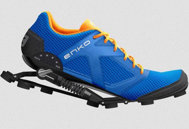 factory price 1f7bf 6b61c Tenis con muelles que aspiran a revolucionar el running