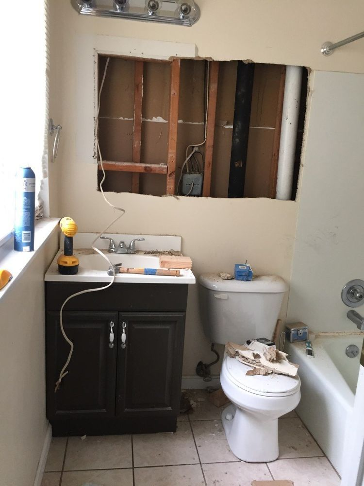 Best Small Master Bathroom Makeover On A Budget Bathroom 400 x 300