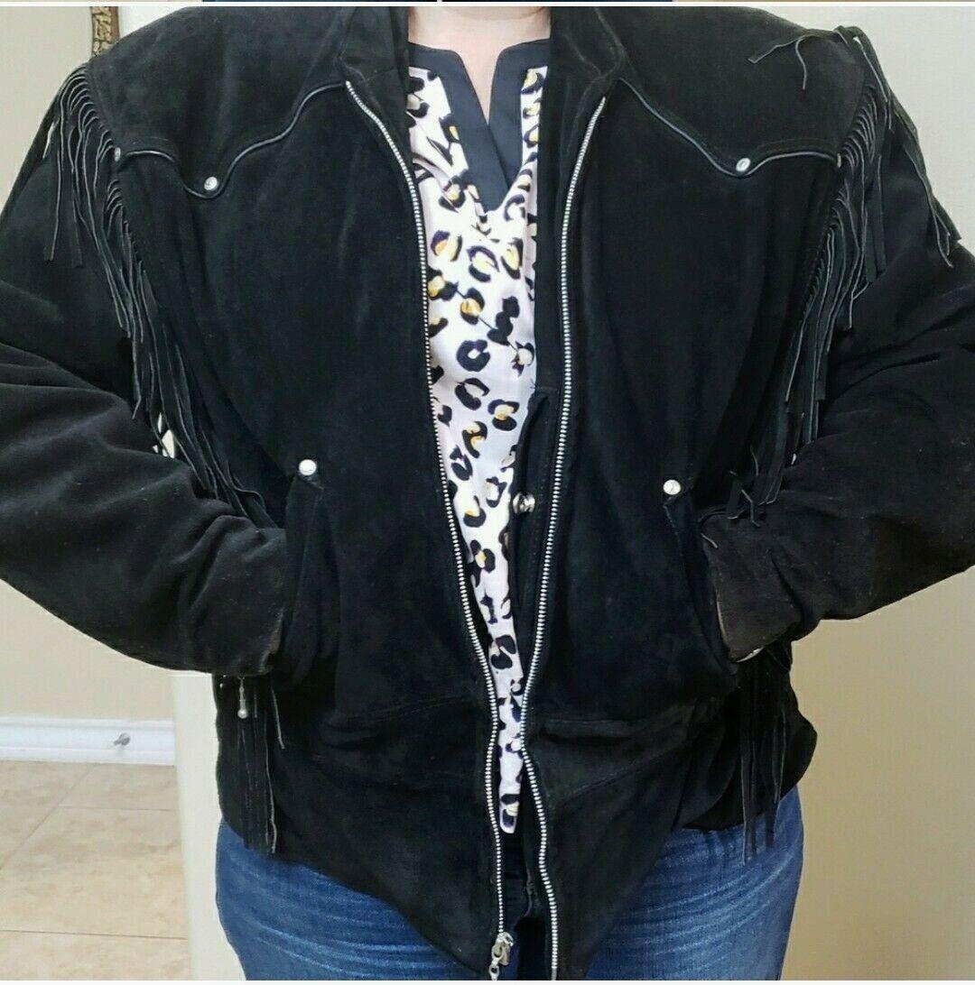 Harley Davidson Genuine Leather Jacket Womens XL
