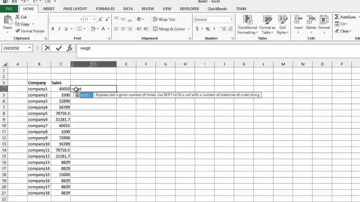 Repeat Function in Excel Excel Projects to Try Pinterest