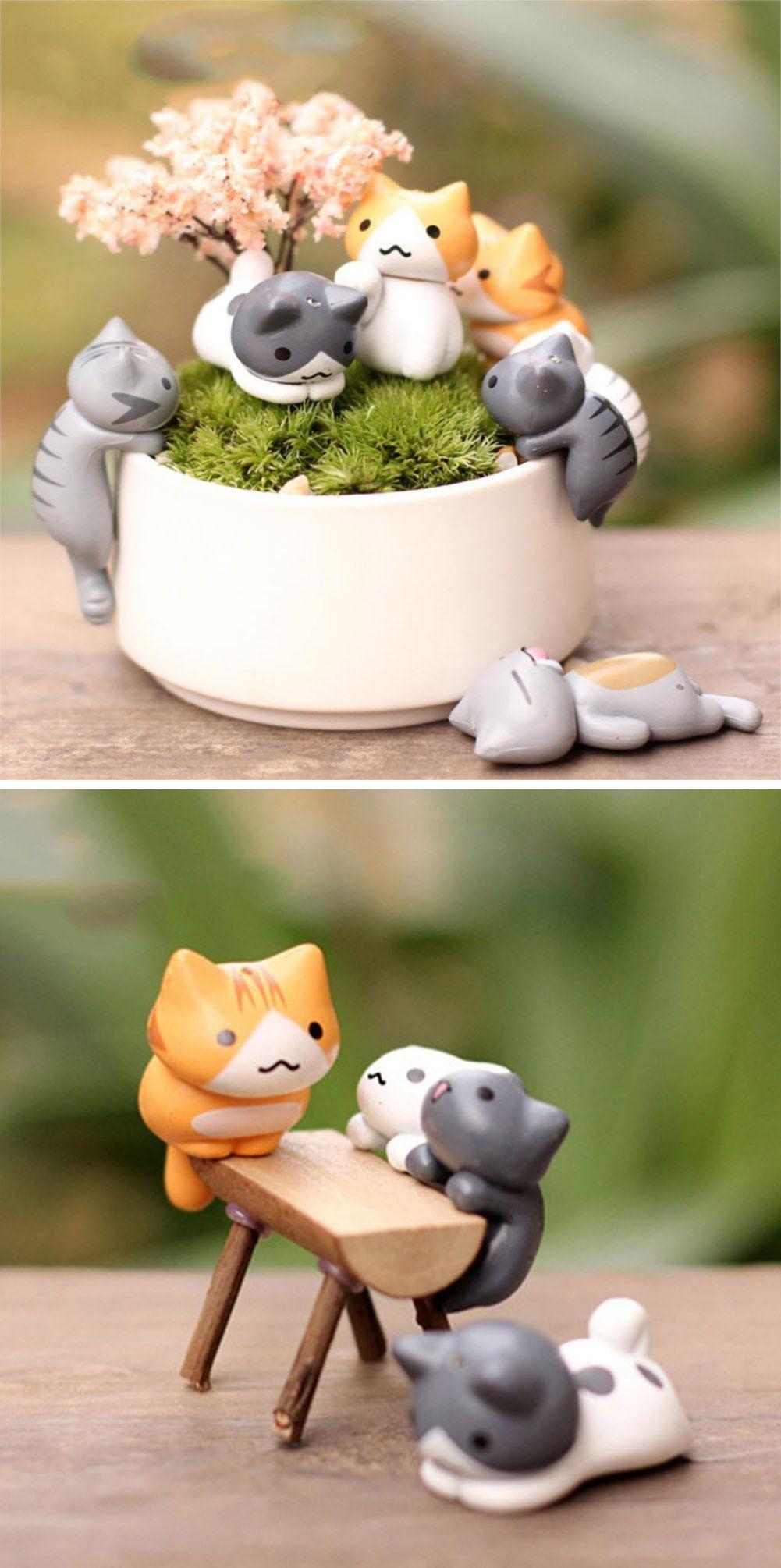 Kawaii cat ornaments in animal cartoon pinterest kawaii