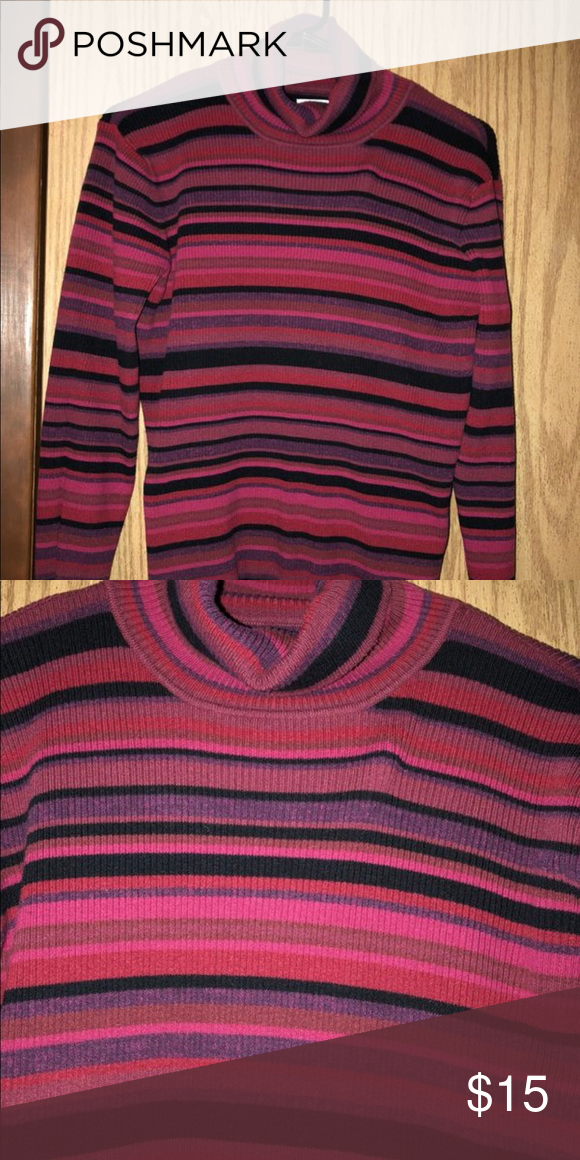 Vintage Pink Turtleneck Sweater Cute And Soft No Signs Of Wear